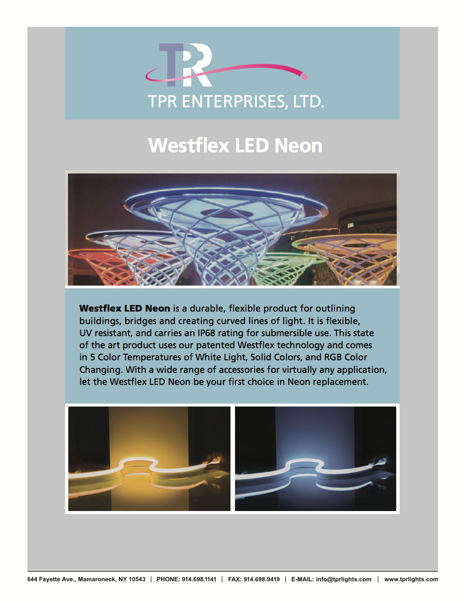 Westflex LED Neon Brochure (Photo)